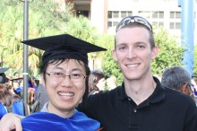 John with Dr. Bing Yao